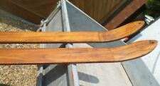 More details for old style wood skis