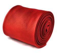 Corbatas, pajaritas y pañuelos de hombre rojos lisos