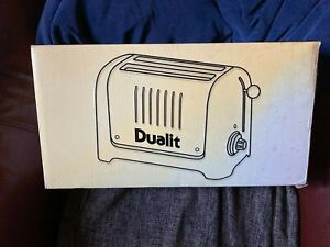 Dualit Lite Long Slot 2 Slice Toaster