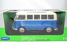 VW VOLKSWAGEN T1 BUS 1962  WELLY 1/18