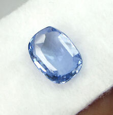 IGI CERTIFIED 7.17Cts NATURAL TRANSPARENT UNHEATED CEYLON BLUE SAPPHIRE