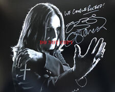 OZZY OSBOURNE signed 8x10 Autographed Photo Reprint