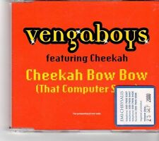 (FP100) Vengaboys ft Cheekah, Cheekah Bow Bow - 2000 DJ CD