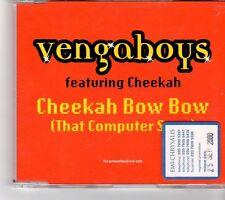 (FP100) Vengaboys ft Cheekah, Cheekah Bow Bow - 2000 DJ CD