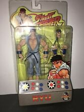 SOTA Street Fighter Round 1 RYU Blue/Gray Variant Action Figure