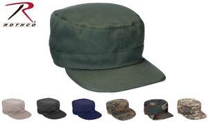 Military Style Fatigue Hat Adjustable USMC Army Field Patrol Cap M1951 BDU Hats