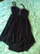 BNWT CROSSROADS BLACK DIAMONTE EMBELLISHED PARTY DRESS - GORGEOUS (Size 12)