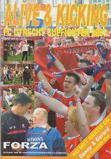 Programme / Magazine FC Utrecht Alive and Kicking FC Utrecht Cupfighter 2003