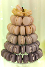 Gluten Free Assorted  96 Pack French Macarons for 6 tier macaron tower