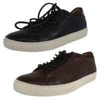 Frye Mens Walker Low Lace Up Leather Sneaker Shoes