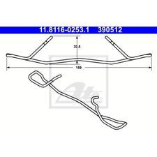 ATE Original Feder Bremssattel, Bremszange Mercedes-Benz Clk,E-Klasse,Slk