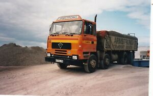 COL PHOTO: ARMSTRONG TRANSPORT (CUMBRIA) FODEN 4250 8 WHEEL TIPPER - H776 LHN