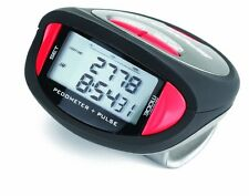Sportline 356 Pulse Multi-function Pedometer Heart Rate Monitor With Belt Clip