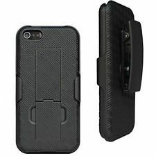 Combo Shell Case & Holster with Belt Clip for iPhone 5C w/Kick-Stand