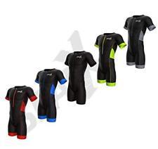 Sparx Men Elite Aero Short Sleeve Triathlon Suit Skinsuit Team Tri Suit 1711