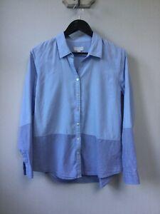 Gorgeous Ladies The White Company Blue Blouse/Shirt, UK Size 14, Good Condition