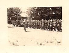 Kommandant Funkwagen Trupp 9 Appell  Belgien