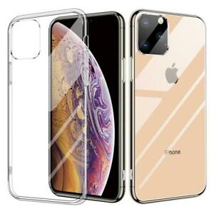 Thin Clear Silicone Case for iPhone 11 Pro MAX 12 XS XR 7 8 6 6S Plus Back Cover