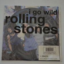 "ROLLING STONES - I GO WILD - 1995 7"" SINGLE PICTURE DISC"