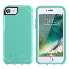 Griffin Survivor Shockproof Strong Case for iPhone 8 / 7 / 6s 6 Mint/Apple White