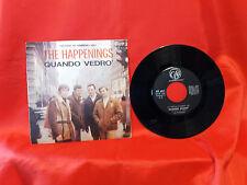 DISCO 45 giri -  The Happenings -  QUANDO VEDRO'/ARIA DI SETTEMBRE  - SANREMO 67