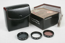 CRYSTAL OPTICS FILTER KIT, 28MM, WITH BOX, CASE AND INSTRUCTIONS/164416