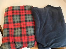 2 pair of SADDLEBRED Men Fleece Sleep Lounge Pajama Pants 4XL EUC  D7
