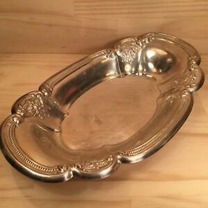 "RODD ""Vaucluse"" Gorgeous Vintage Silverplated Metal Serving Dish Decorative Bowl"