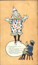 Children's Clothing Little Jack Horner Humpty-Dumpty Stockings c1910 PC