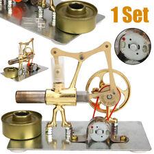 Mini Stirling Engine Generator Model Motor Hot Air Steam Power Educational Toys