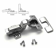 Door Hinge GTV Prestige 35mm  Soft Close Inset Flush-Door BE Pack of 001