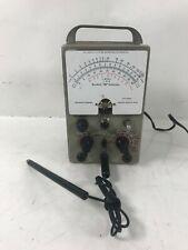 1960s Heathkit V 6 Vacuum Tube Voltmeter Heath For Parts Front Broken