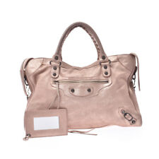 BALENCIAGA The city Pink glitter Bag 802500031298000