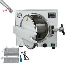 18l Autoclave Steam Sterilizer Dental Lab Equipment 900w Sterilization With Tray