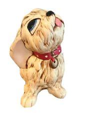 """Vtg puppy Pendelfin Tammy Dog Stonecraft Figurine England Hand painted 3.5"""""""