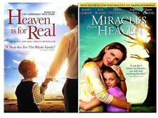 2 DVD-Pack-HEAVEN IS FOR REAL & MIRACLES FROM HEAVEN DVD