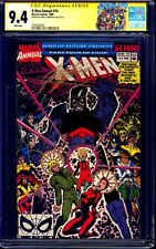 X-Men Annual #14 CGC SS 9.4 signed Chris Claremont 1st GAMBIT APPEARANCE NM