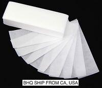 100pcs Professional Armpit Leg Hair Removal Wax Paper
