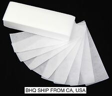 100pcs Professional Armpit Leg Hair Removal Wax Paper