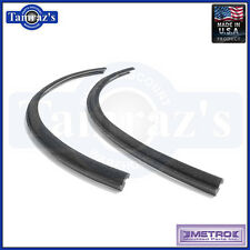 62-7 Mopar B Body Quarter Window Weatherstrip Seals Flocked Pair VS7AFL USA MADE