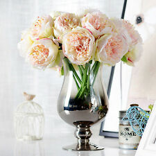 Hot Artificial Fake Peony Silk Flower Bridal Hydrangea Home Wedding Garden Decor