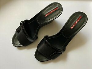 Prada Women's Nero Sandals (size 36.5)