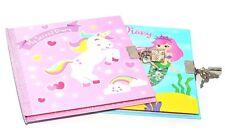 1 X A6 Secret Diary Lock Notebook Girls Diaries Lockable Padlock Journal Book