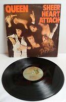 """QUEEN """"Sheer Heart Attack"""" Vinyl LP 1974 1st Pressing 7E-1026(CP) w/Lyrics Sheet"""