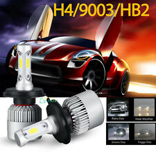 CREE LED Headlight H4 9003 HB2 200W 20000LM High Low Beam Car White Light Bulbs