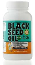 Black Seed Oil 500mg Softgels Cold Pressed 90 Capsules Pills Gmo All Natural