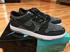 Nike SB Dunk Low Elite QS Medicom Bearbrick Denim 877063-002 Men's Size 9