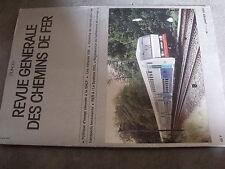 $$m RGCF Chemin de Fer N°01/93 politique image rénovée SNCF  V2N  RER A