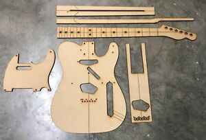 Classic Telecaster Complete Luthier Routing/Building Templates
