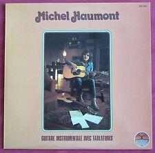 MICHEL HAUMONT LP FR GUITARE INSTRUMENTALE AVEC TABLATURES  CEZAME